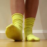 Candy Sock - Gulgrön