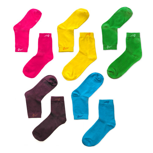 Strumpa 5-pack Rainbow One