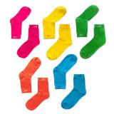 Strumpa 5-pack Rainbow Too