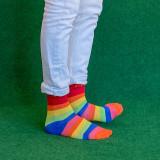 Strumpor Pride XL - Small Stripes