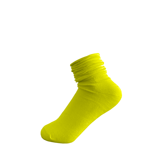 Candy Sock - Gulgrön 5-pack