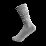 Candy Sock Sweet Powder - 5 par grå damstrumpor