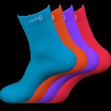 Strumpa 60-pack Blå, Orange, Lila och Röd