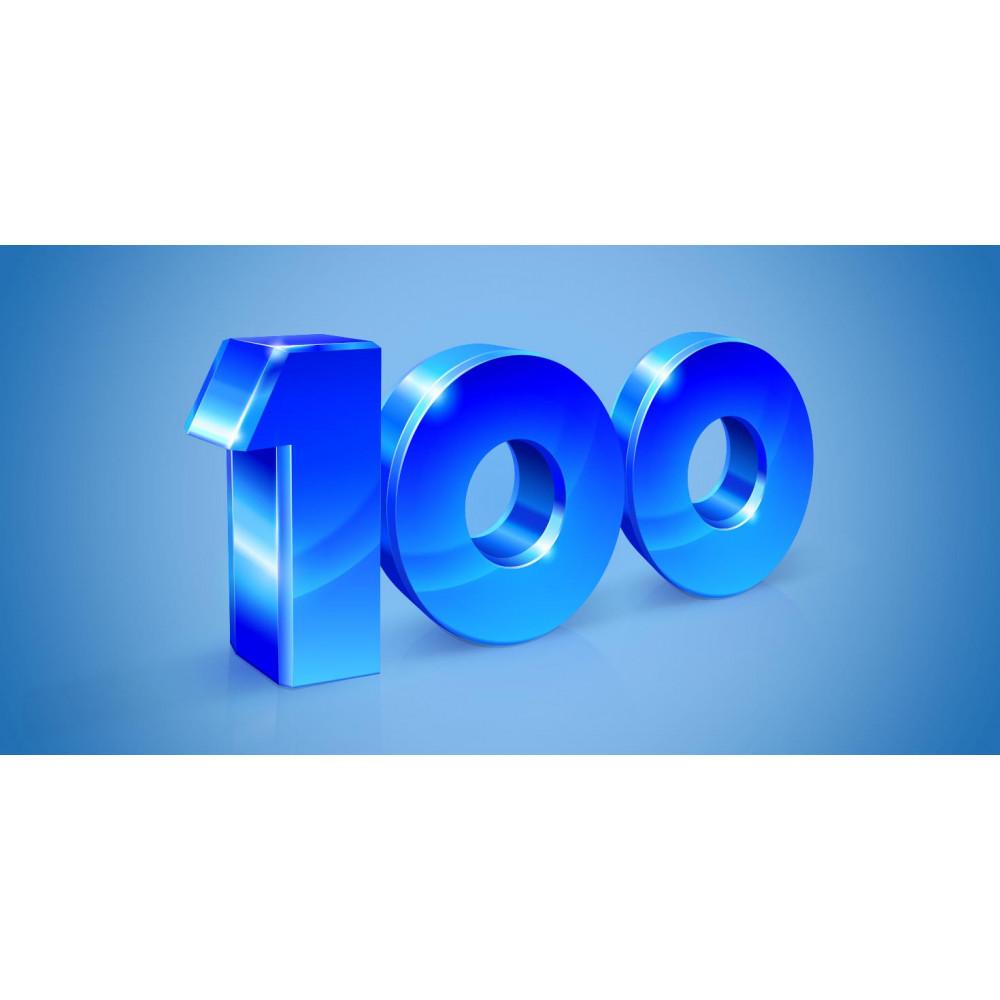 Strumpor 100-pack till låga priser online - Gratis frakt